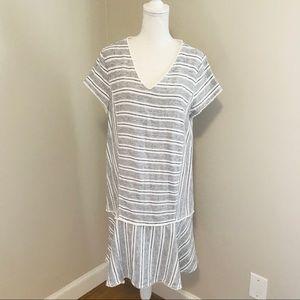 Caslon Linen Dress